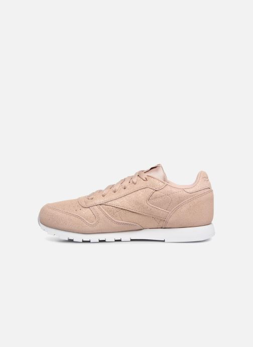 Sneakers Reebok Classic Leather J Rosa immagine frontale