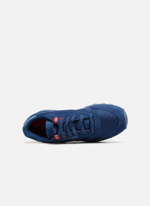 Baskets Reebok Classic Leather J Bleu vue gauche