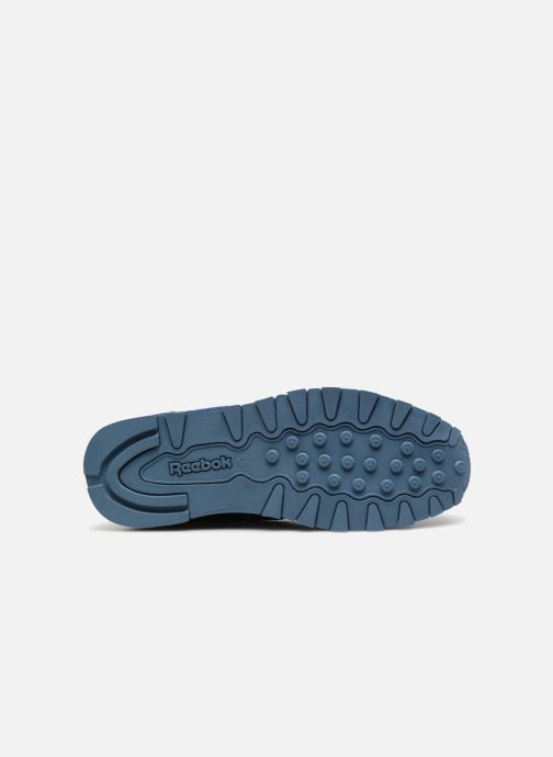 Baskets Reebok Classic Leather J Bleu vue haut