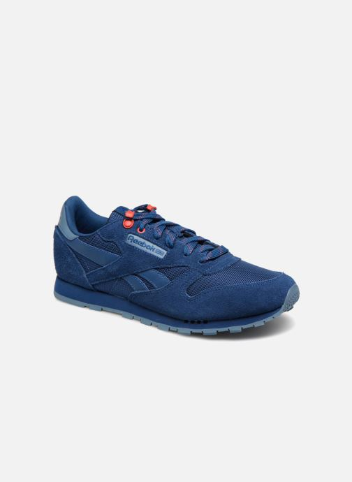 Sneakers Reebok Classic Leather J Blauw detail