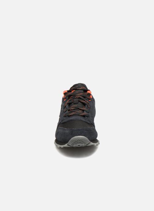 Baskets Reebok Classic Leather J Noir vue portées chaussures