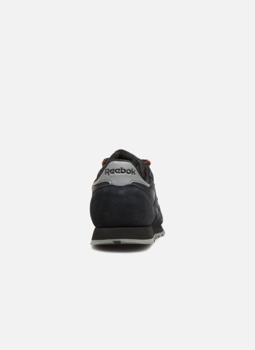 Sneakers Reebok Classic Leather J Zwart rechts