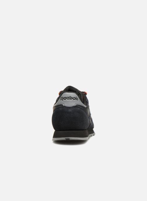 Baskets Reebok Classic Leather J Noir vue droite