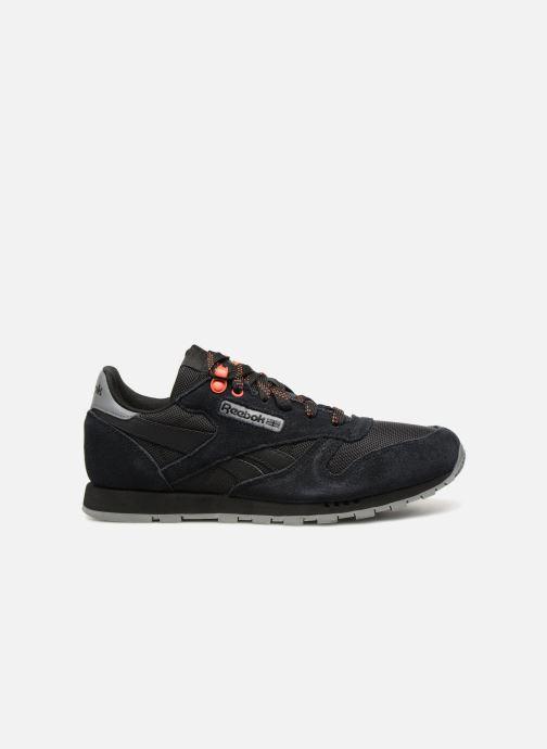 Sneakers Reebok Classic Leather J Zwart achterkant
