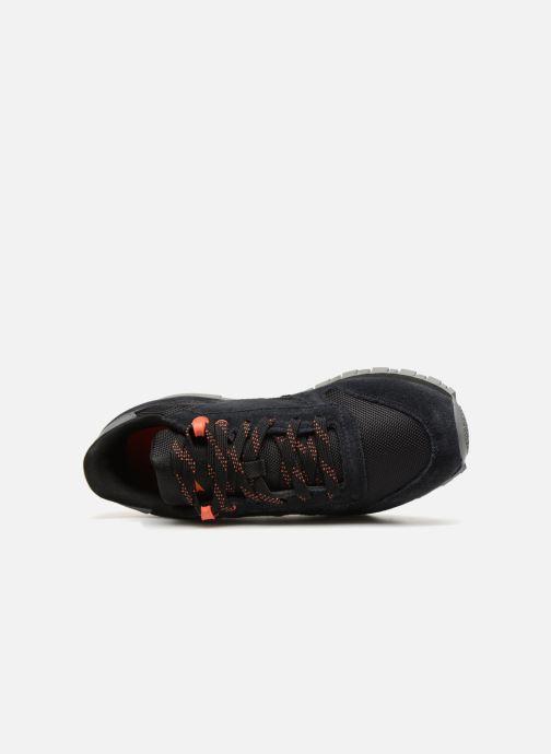 Baskets Reebok Classic Leather J Noir vue gauche