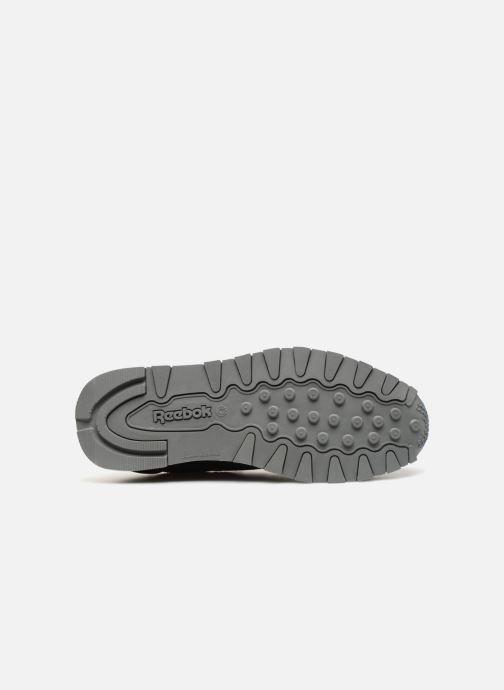 Baskets Reebok Classic Leather J Noir vue haut