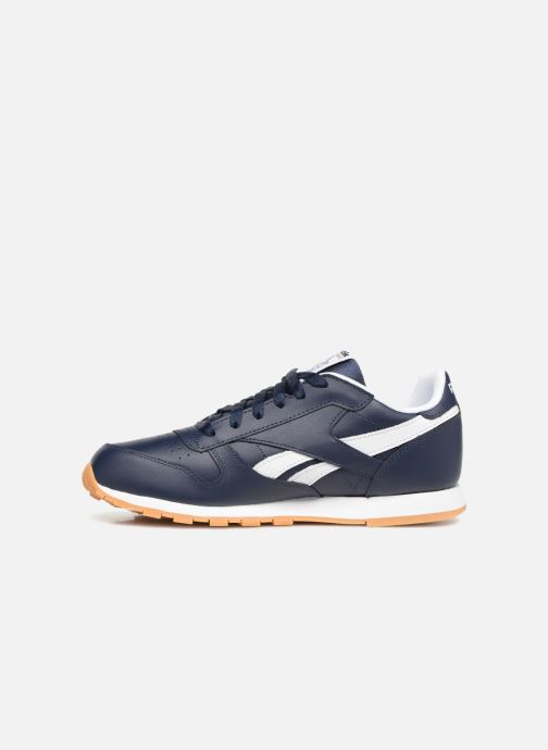 Baskets Reebok Classic Leather J Bleu vue face