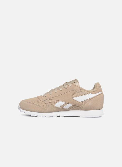 Sneakers Reebok Classic Leather J Beige voorkant