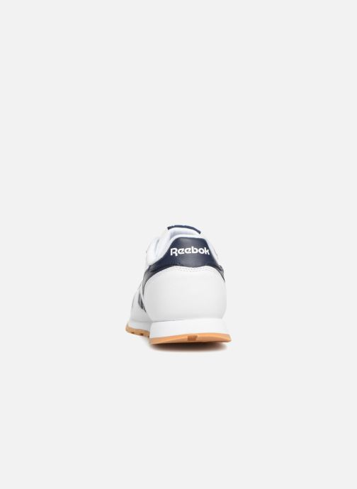 Sneakers Reebok Classic Leather J Wit rechts