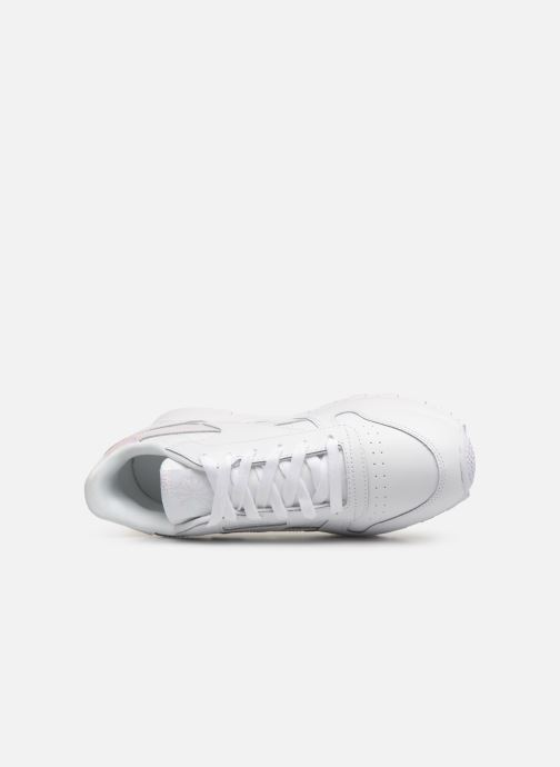 Sneaker Reebok Classic Leather J weiß ansicht von links