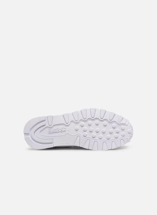 Sneakers Reebok Classic Leather J Bianco immagine dall'alto