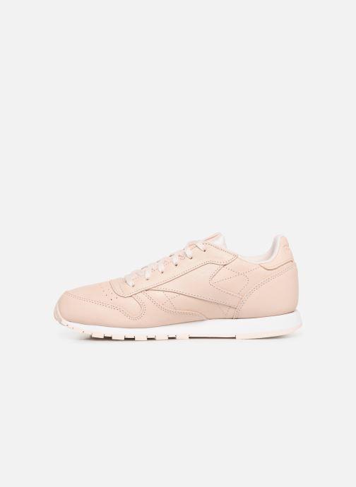 Sneakers Reebok Classic Leather J Beige immagine frontale