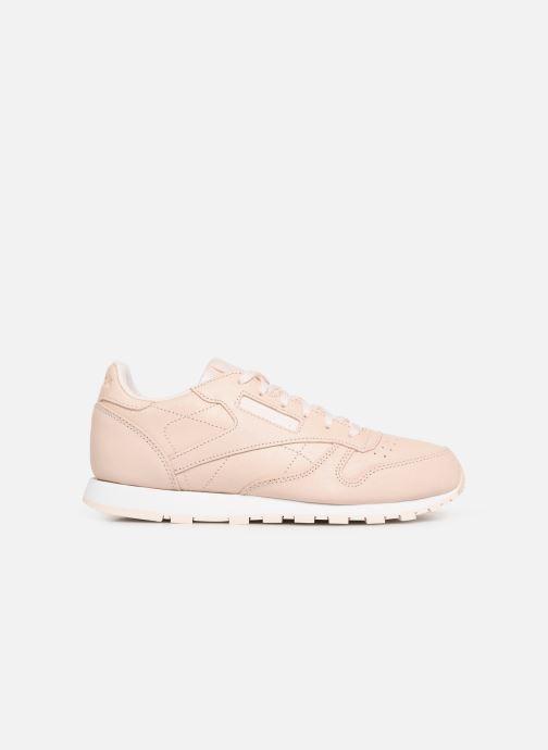 Sneakers Reebok Classic Leather J Beige achterkant