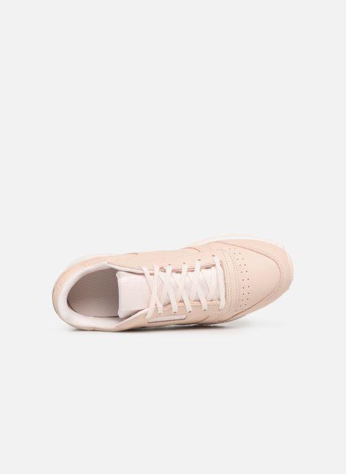 Sneakers Reebok Classic Leather J Beige immagine sinistra