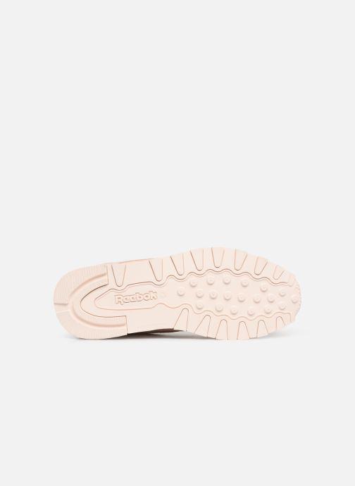 Sneakers Reebok Classic Leather J Beige boven