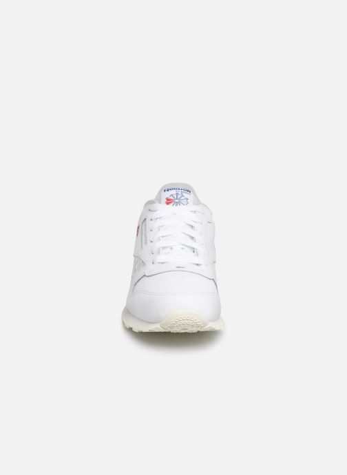 Trainers Reebok Classic Leather J White model view