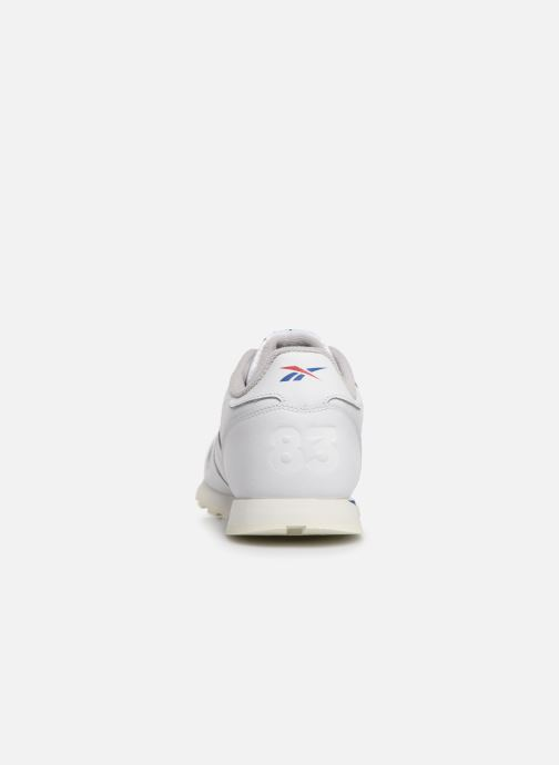 Sneakers Reebok Classic Leather J Bianco immagine destra