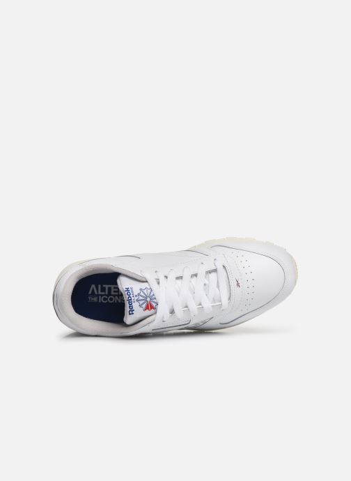Trainers Reebok Classic Leather J White view from the left