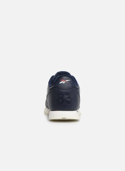 Sneakers Reebok Classic Leather J Blauw rechts
