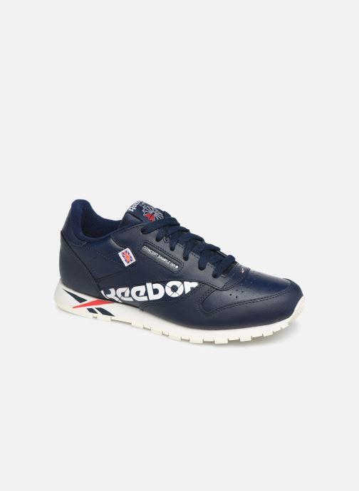 Sneakers Reebok Classic Leather J Azzurro vedi dettaglio/paio