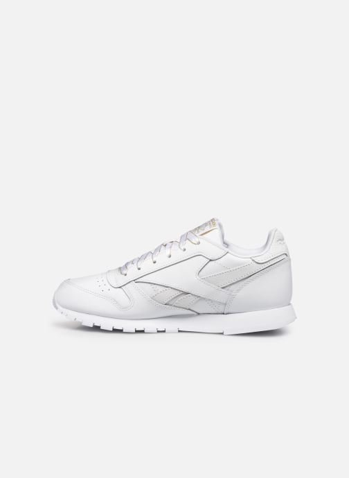 Sneakers Reebok Classic Leather J Wit voorkant