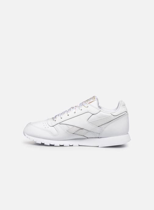 Sneakers Reebok Classic Leather J Bianco immagine frontale