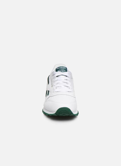 Baskets Reebok Classic Leather J Blanc vue portées chaussures