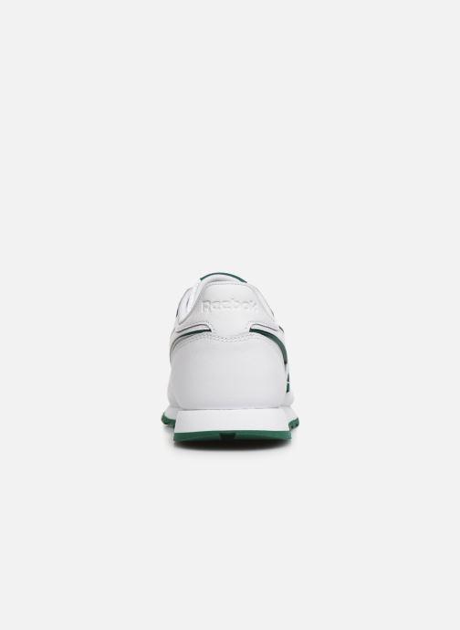 Baskets Reebok Classic Leather J Blanc vue droite