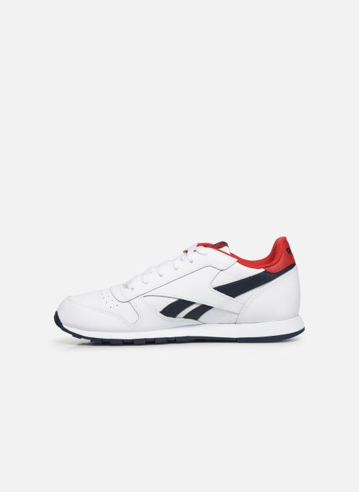Deportivas Reebok Classic Leather J Blanco vista de frente