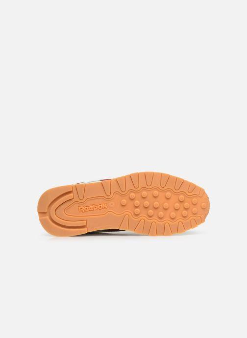 Baskets Reebok Classic Leather J Blanc vue haut