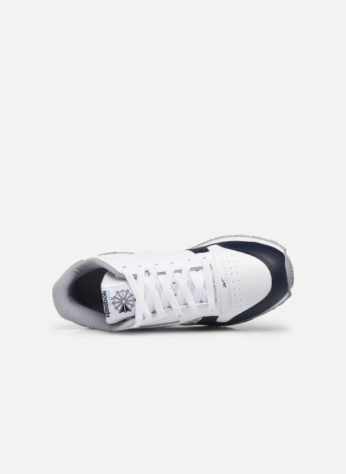 Baskets Reebok Classic Leather J Blanc vue gauche