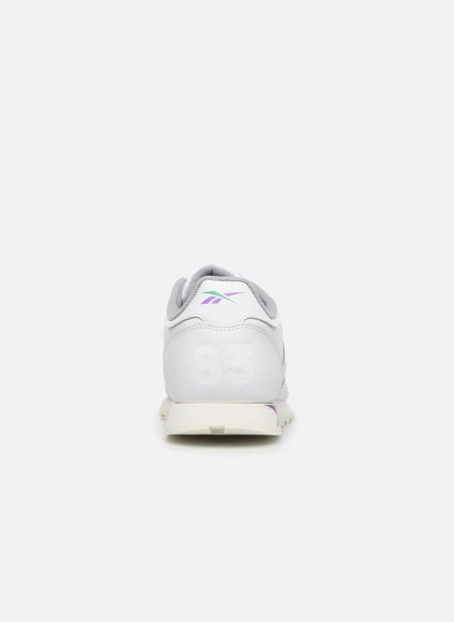 Baskets Reebok Classic Leather J Blanc vue droite