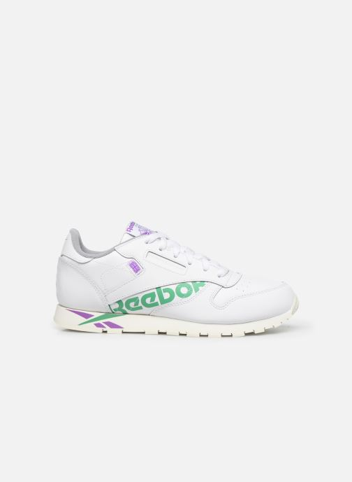 Baskets Reebok Classic Leather J Blanc vue derrière