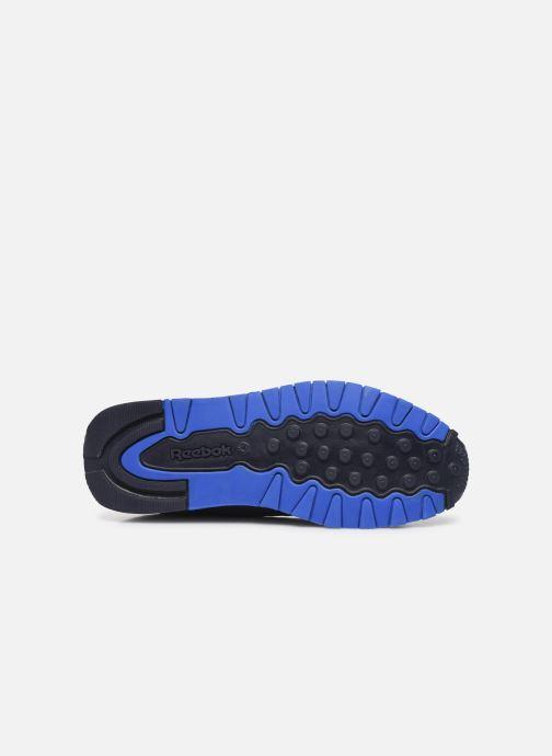 Deportivas Reebok Classic Leather J Azul vista de arriba