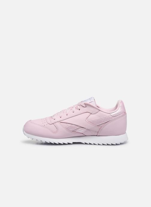 Baskets Reebok Classic Leather J Rose vue face