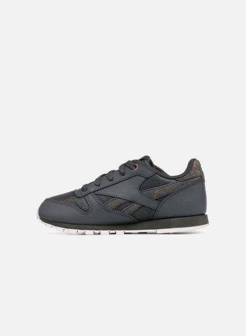 Sneakers Reebok Classic Leather C Zwart voorkant