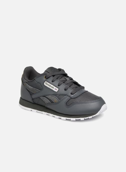 Baskets Reebok Classic Leather C Noir vue détail/paire