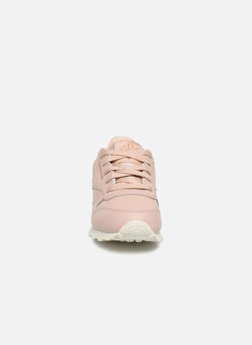 Sneaker Reebok Classic Leather C beige schuhe getragen