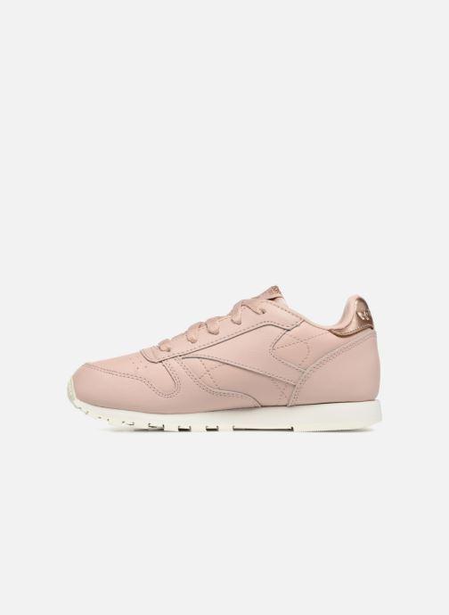 Sneaker Reebok Classic Leather C beige ansicht von vorne