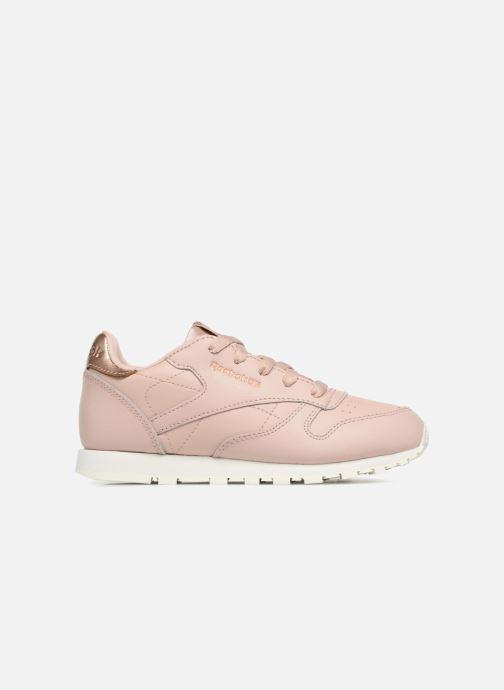 Sneaker Reebok Classic Leather C beige ansicht von hinten