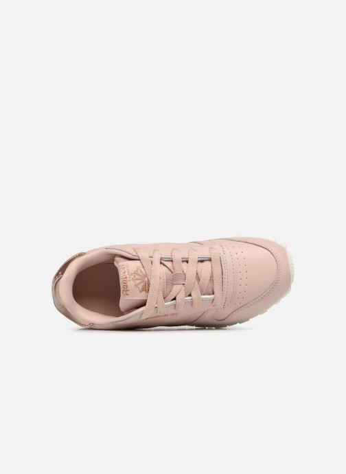 Sneaker Reebok Classic Leather C beige ansicht von links