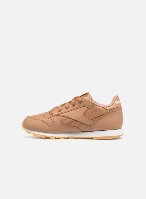 Baskets Reebok Classic Leather C Marron vue face