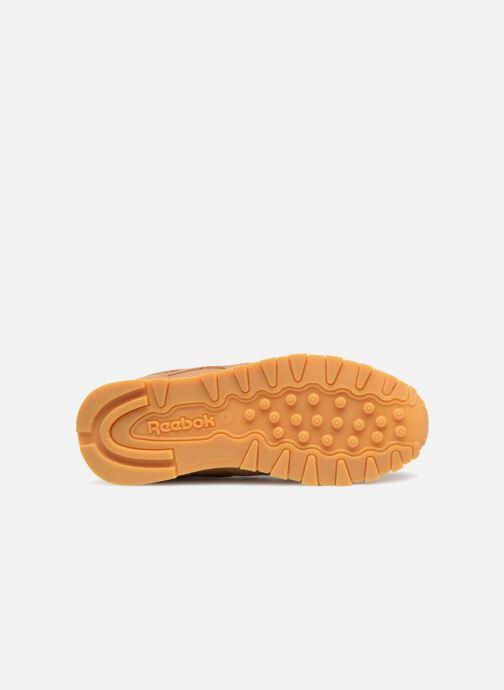 Baskets Reebok Classic Leather C Marron vue haut