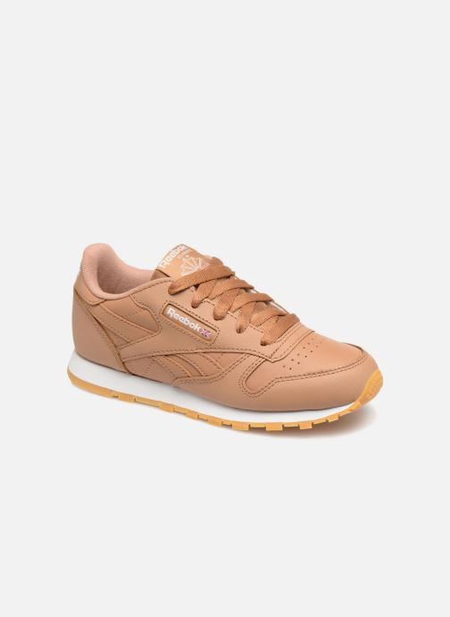 Baskets Reebok Classic Leather C Marron vue détail/paire