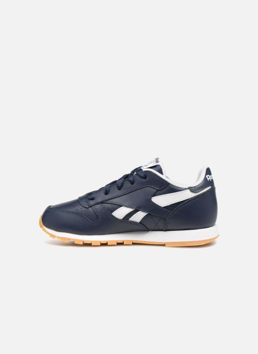 Baskets Reebok Classic Leather C Bleu vue face