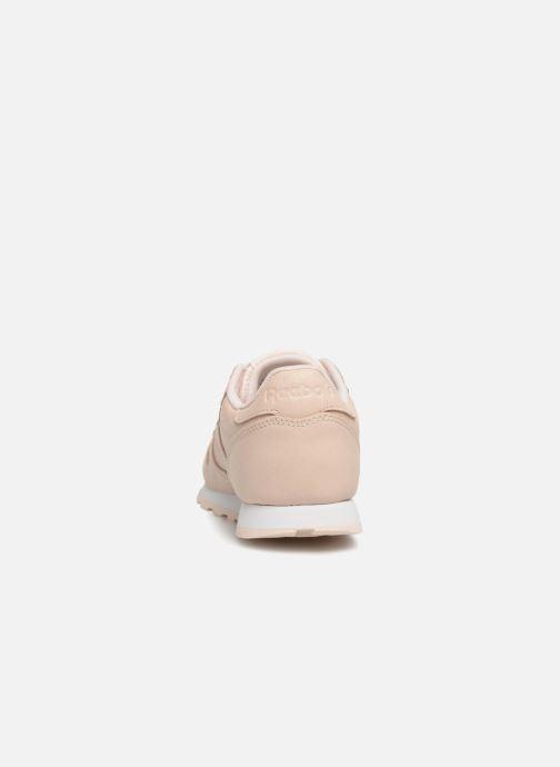 Baskets Reebok Classic Leather C Beige vue droite