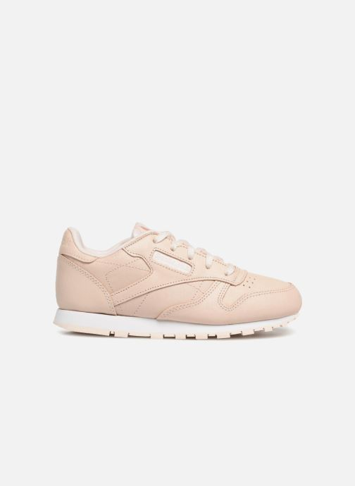 Sneakers Reebok Classic Leather C Beige achterkant