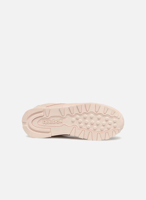 Baskets Reebok Classic Leather C Beige vue haut