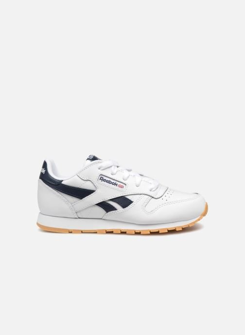 Baskets Reebok Classic Leather C Blanc vue derrière