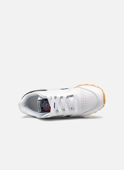 Baskets Reebok Classic Leather C Blanc vue gauche